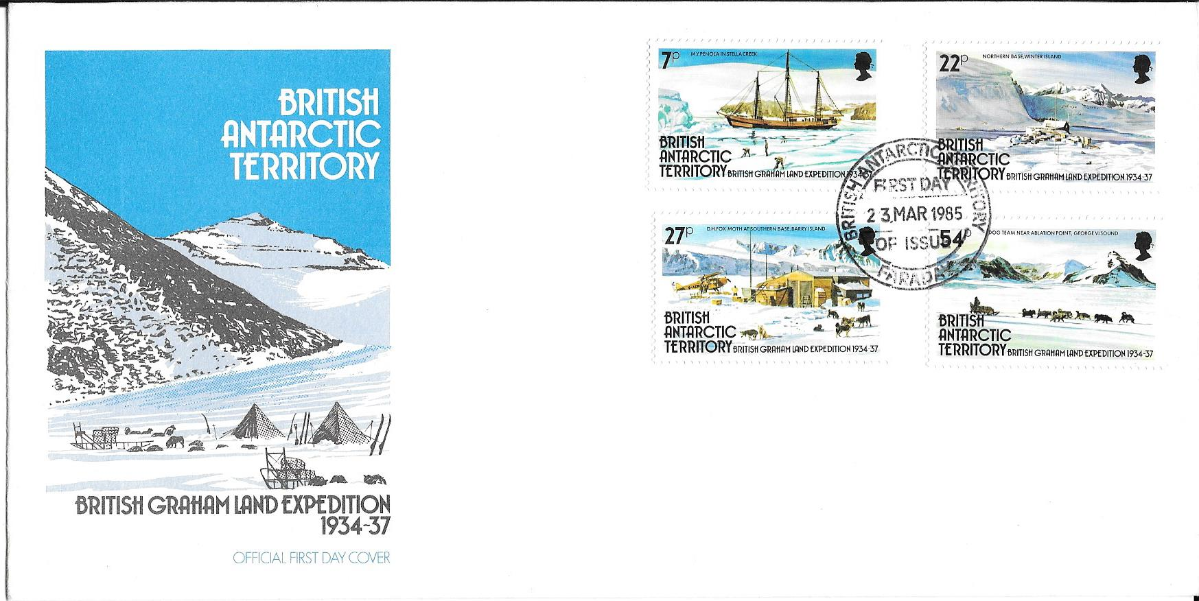 British Grahamland Expedition 1934 - 1937 Cover