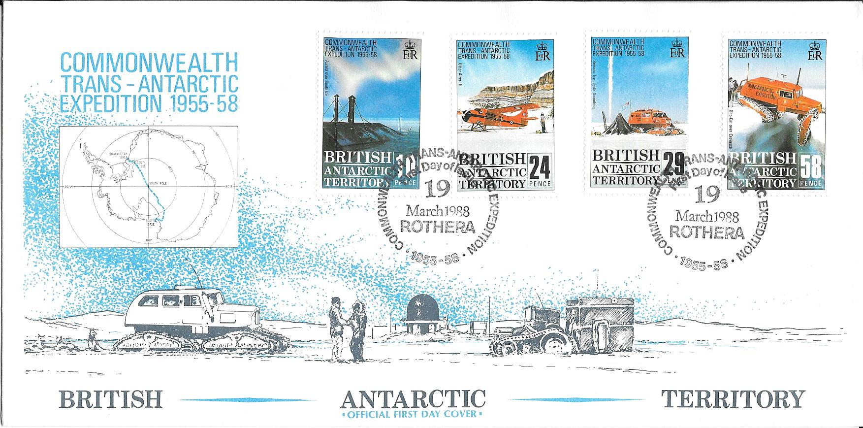 Commonwealth Trans - Antarctic Expedition 1955 - 1958 Cover