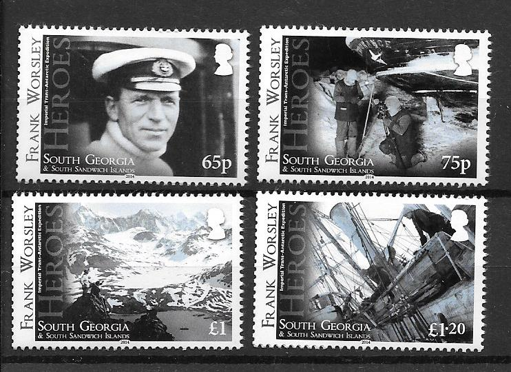 Frank Worsley Stamps