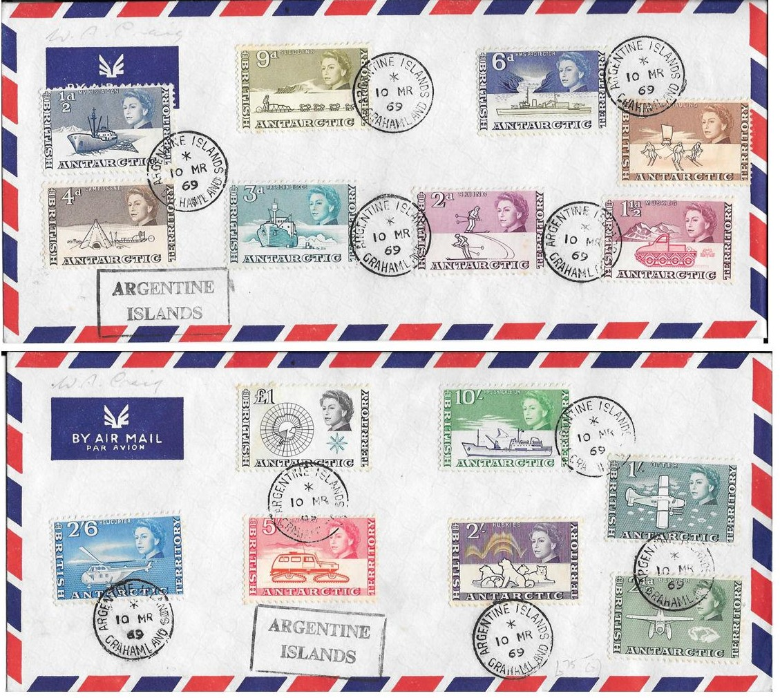 1963 Definitives on Cover