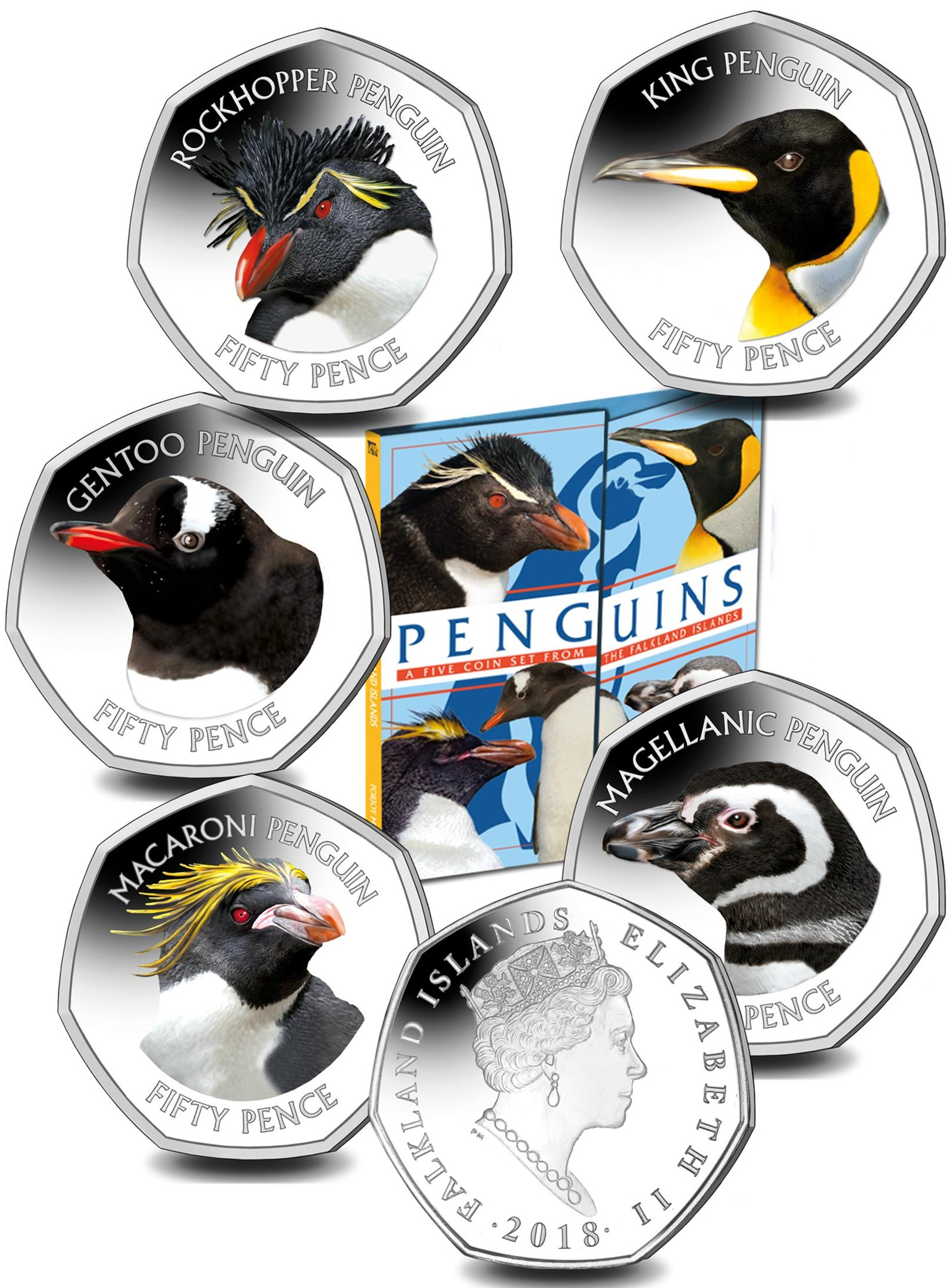 Penguin Set in Folder