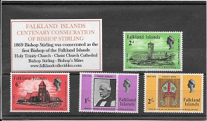 1969 Centenary Bishop Stirling Mint Set